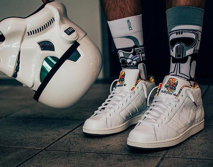 Adidas Superstarskate Mid Camo 'Stormstrooper' - @grimm_adventure
