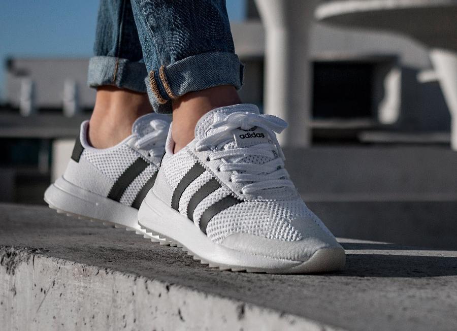 adidas flashback w blanche