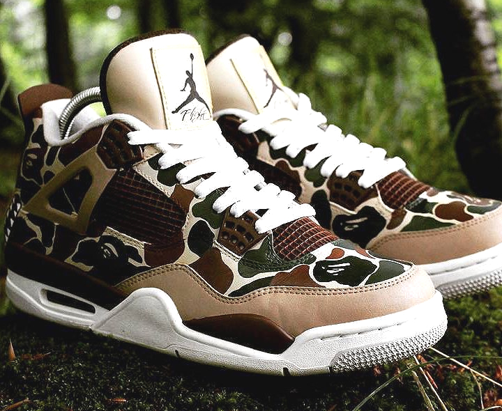 air-jordan-4-camo-bape-wascustom