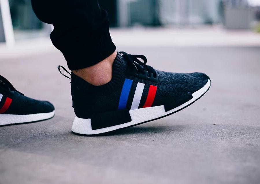 chaussure-adidas-nmd-r1-primeknit-tri-color-noire-4
