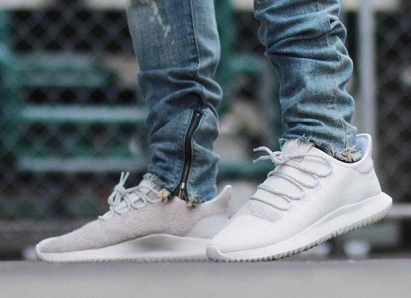 Adidas Originals Tubular Shadow 'Crystal White'