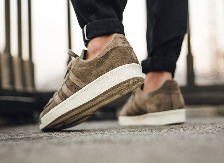 Suede Cargo Adidas Grise homme Gold' Superstar 80's 'trace vv7XE