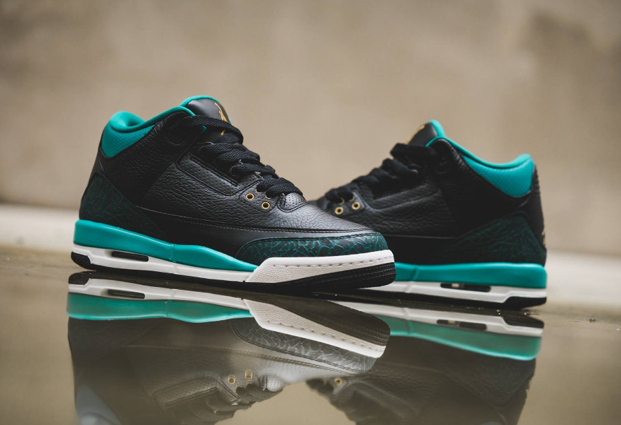 Air Jordan 3 Retro GG 'Rio Teal'