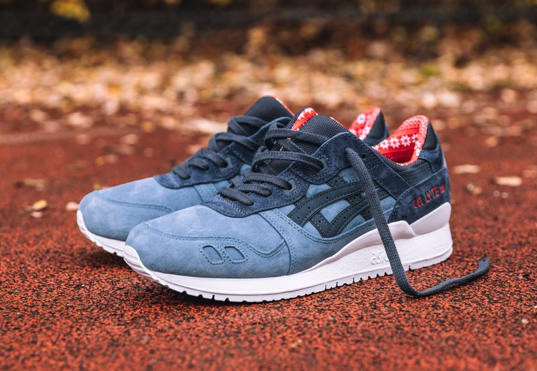 Asics Gel Lyte 3 'X-Mas' Blue Mirage