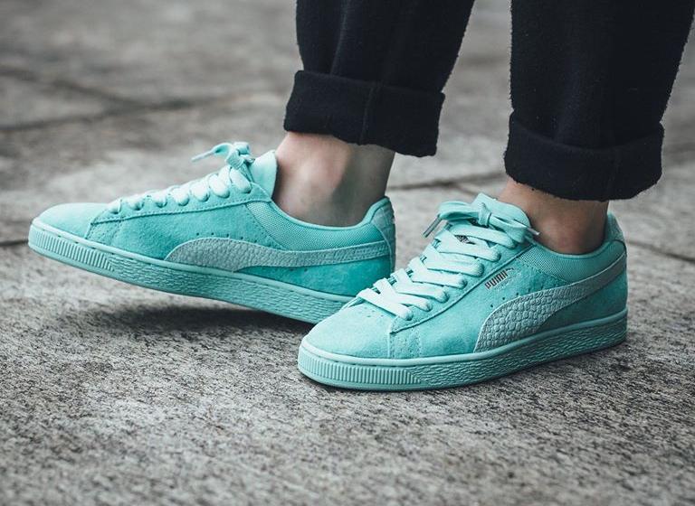 chaussure-diamond-supply-x-puma-suede-en-daim-turquoise-imprime-crocodile-1