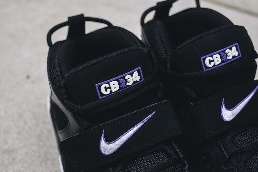 Gros plan sur la Nike Air Max CB 34 Barkley OG Godzilla 2016
