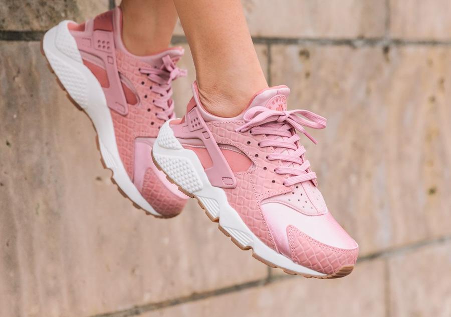 Nike Air Huarache PRM 'Croc' Pink Glaze'