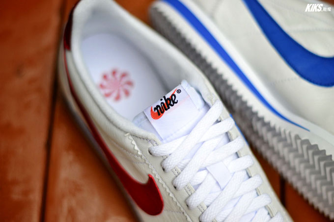 pretty nice d1940 e8a57 Nike Classic Cortez Leather Blanche QS 'Nai ke' (homme & femme)