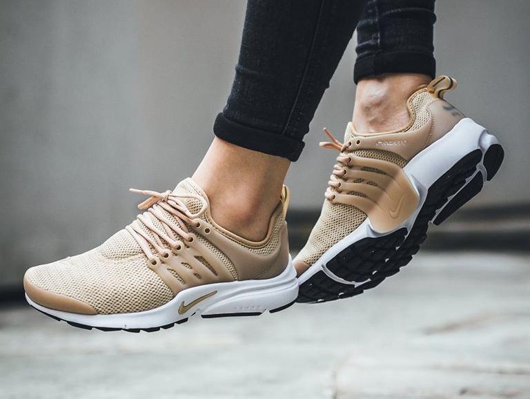 regarder e9552 fb15e Nike Air Presto 'Beige' Linen (femme) | Sneakers-actus