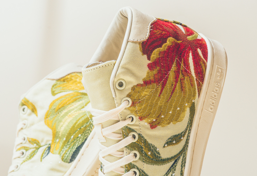 Pharrell Williams x Adidas Stan Smith Mid Jacquard 2.0