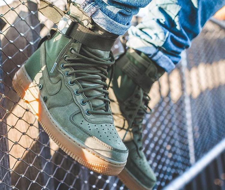 Nike Gum'sdj Special 14122016 Field Sf Air 1 'olive Af1 Force Ibf76ymYvg