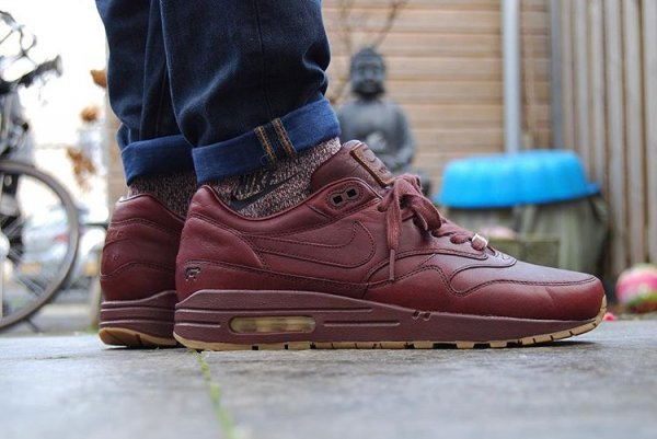 La Nike Air Max 1 ID PRM 'Will Leather Goods' en 10 images
