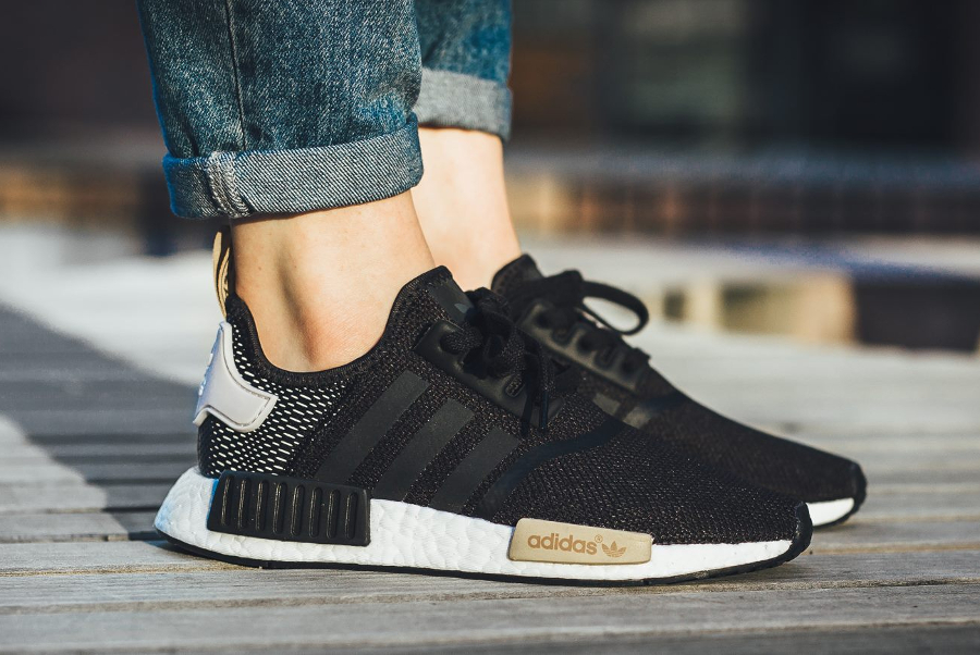 Adidas NMD R1 W 'Black Ice Purple' (femme) | Sneakers