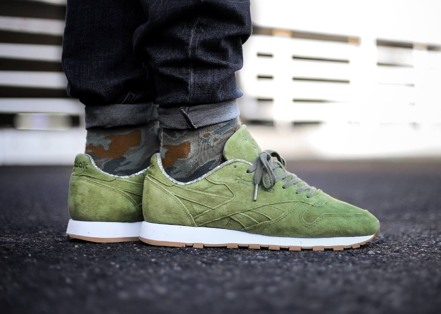 Reebok Classic Leather TDC Suede 'Canopy Green' (homme)