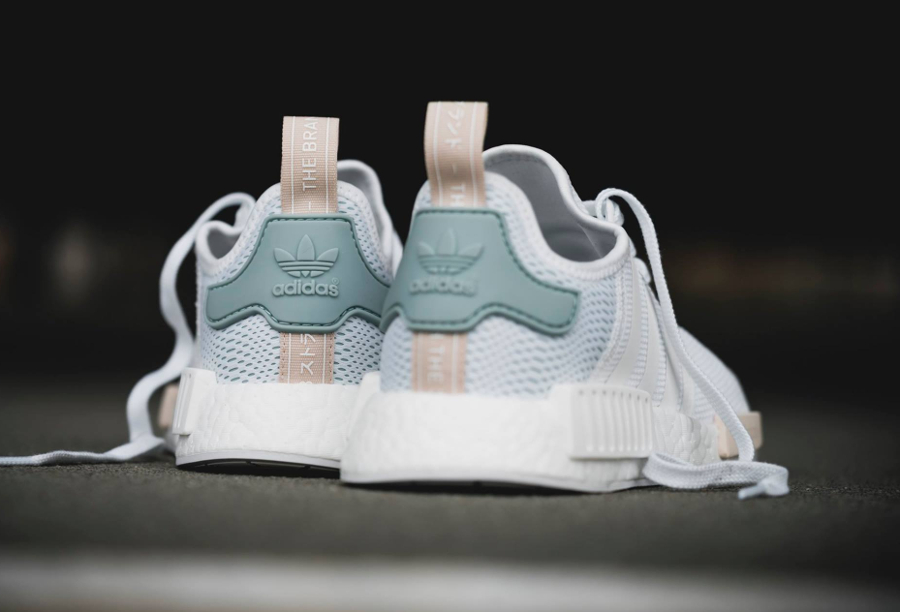 adidas NMD R1 PK W chaussures turquoise Femme Baskets