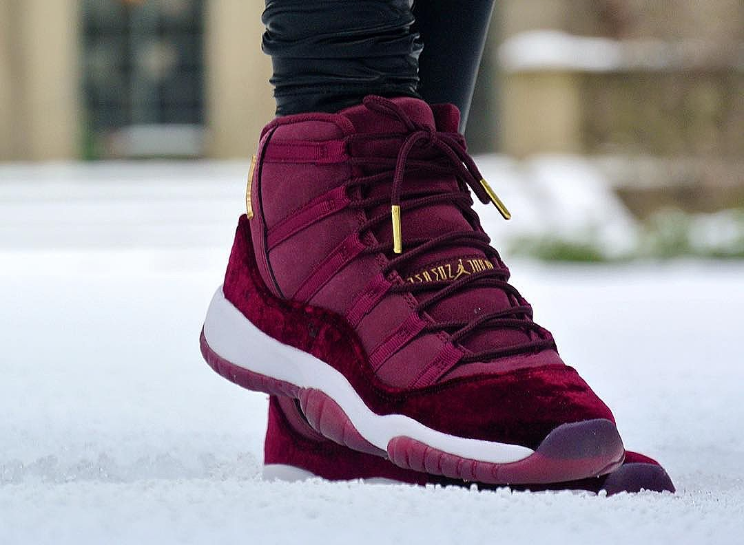 Air Jordan 11 Retro Velvet Night Maroon - @britta_ruth920 (2)