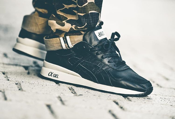 Asics GT II Black Leather - @lucasblackman