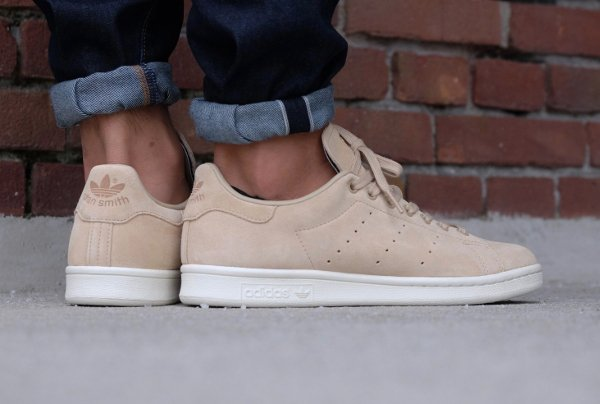 Adidas Stan Smith Suede 'Linen Khaki'