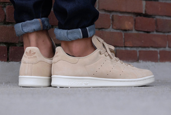 Basket Adidas Stan Smith Suede 'Linen Khaki' ...