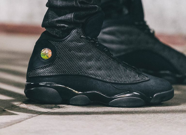 Basket Air Jordan 13 Chat Noir (2)