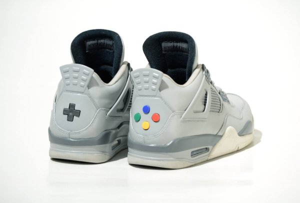 Air Jordan 4 Retro 'Super Nintendo'
