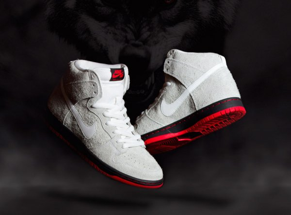 Black Sheep x Nike Dunk High Pro SB 'Wolf'
