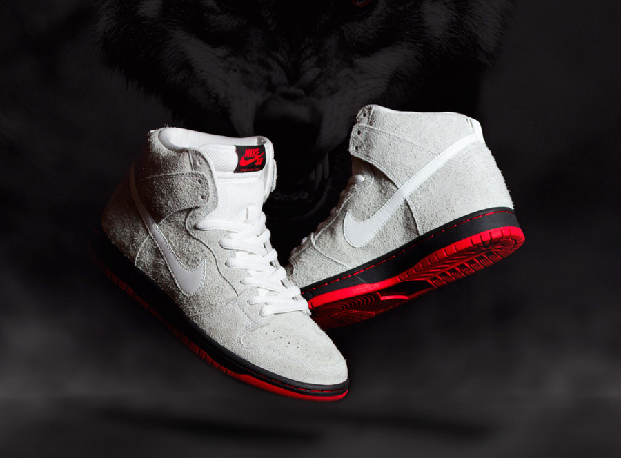 Black Sheep x Nike Dunk High Pro SB 'Wolf'
