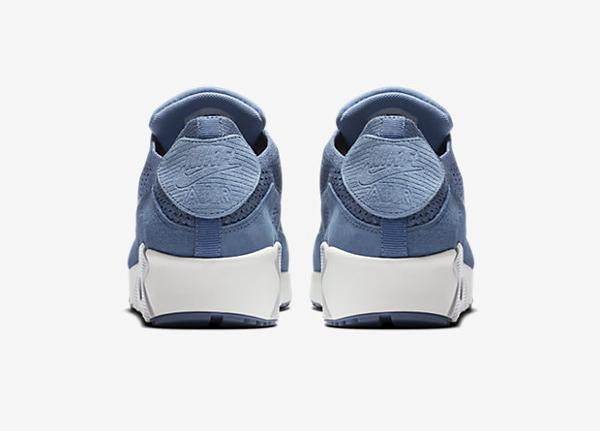 Basket Nike Air Max 90 Flyknit 'Fog Blue' (2)