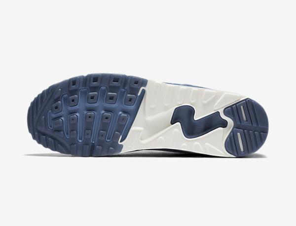 Basket Nike Air Max 90 Flyknit 'Fog Blue' (4)