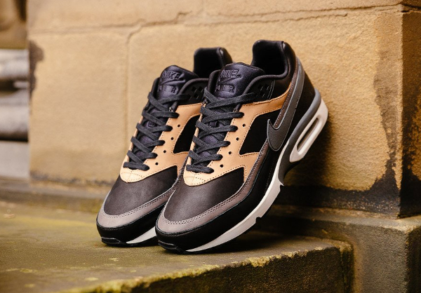 Basket Nike Air Max BW PRM 'Black Grey Vachetta Tan' (1)