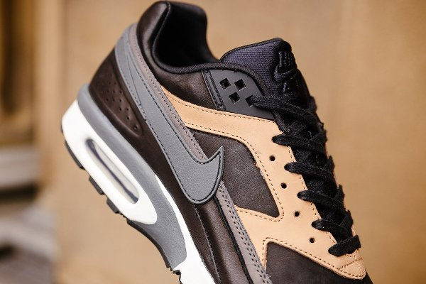 Nike Air Max BW PRM 'Black Grey Vachetta Tan'