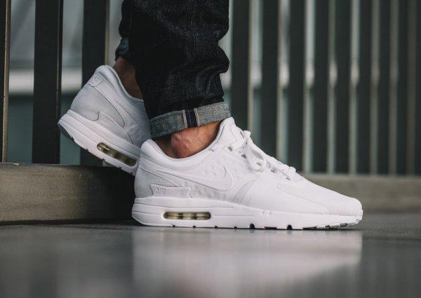 Nike Air Max Zero Essential 'All White'