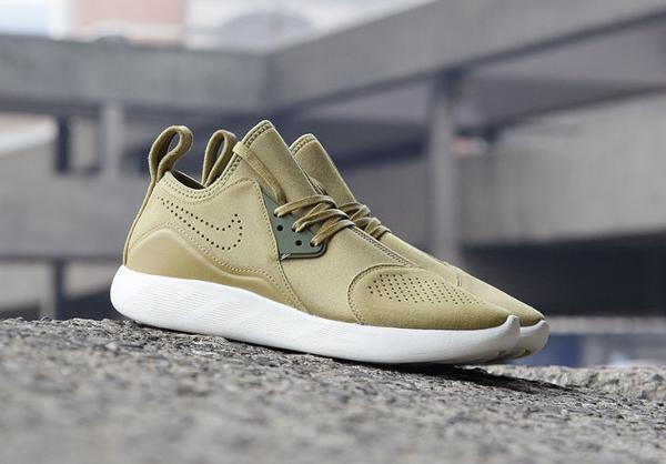 Basket Nike Lunarcharge Premium Suede Camper Green (homme & femme) (4)