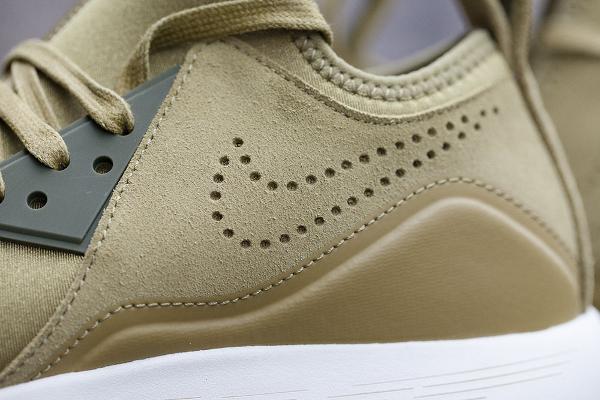 Basket Nike Lunarcharge Premium Suede Camper Green (homme & femme) (6)