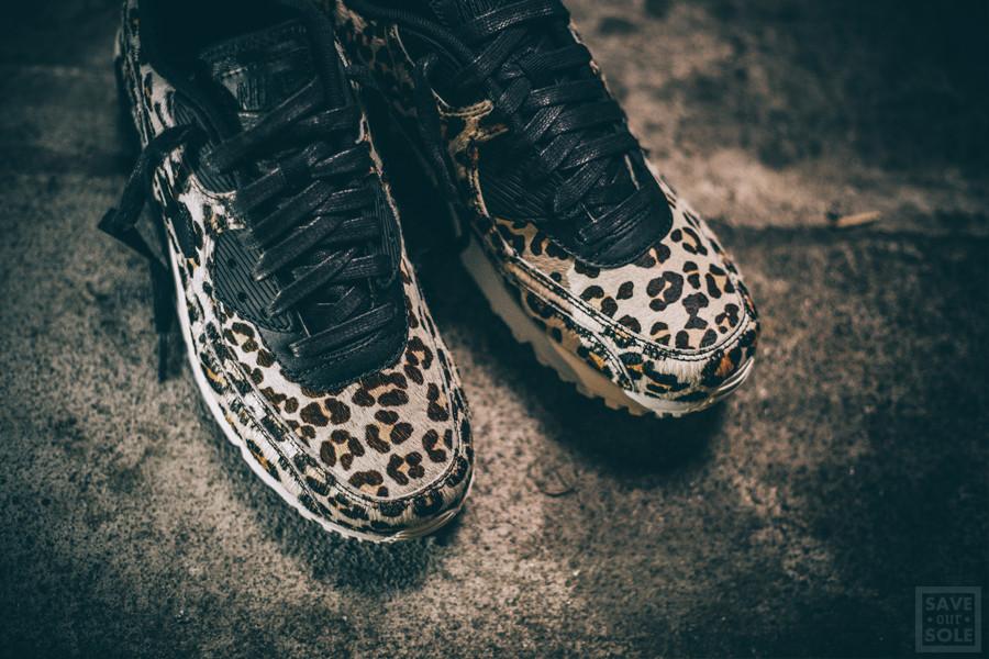 basket nike air max leopard