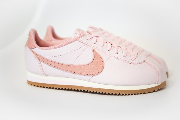 Pearl Lux Croc Nike Gumfemme Leather Cortez Pink WE92IeDHY