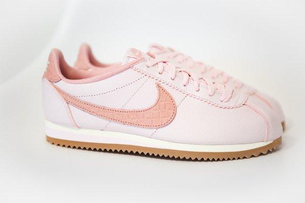 nike cortez pearl pink