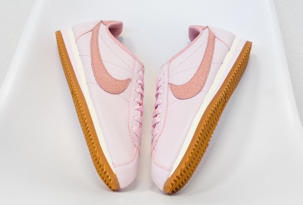 Basket Nike Wmns Cortez Leather Lux Pearl Pink (4)