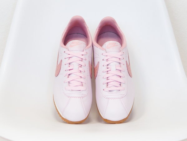 Basket Nike Wmns Cortez Leather Lux Pearl Pink (5)