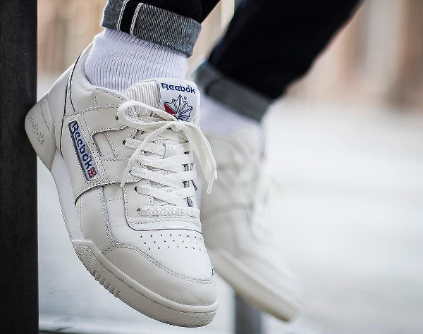 Reebok Workout Plus Vintage  White Chalk  (blanche) df2431c2adca