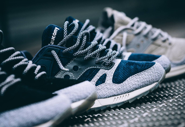 Basket Saucony Grid SD Dirty Snow II Pack (2)