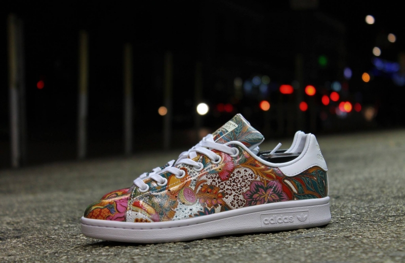 Basket The Farm Company x Adidas Stan Smith W Multicolor Flowers Bali (1)