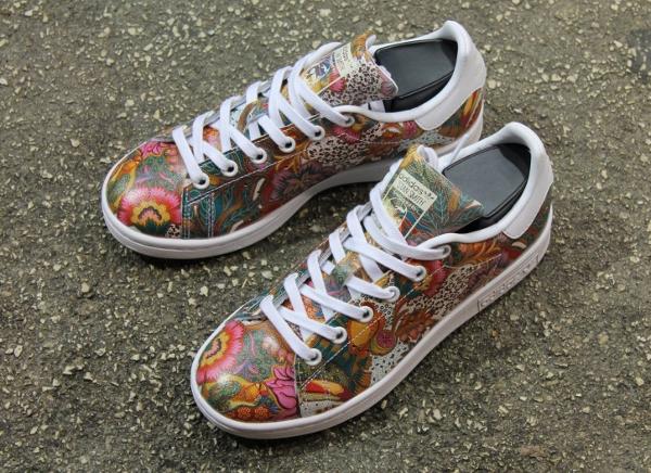 Basket The Farm Company x Adidas Stan Smith W Multicolor Flowers Bali (2)
