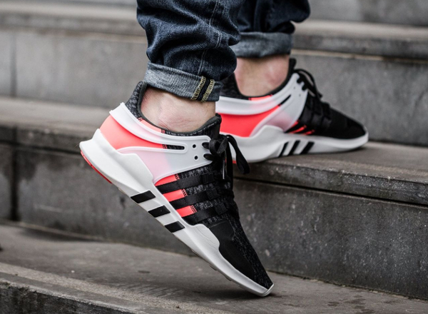 Chaussure Adidas EQT Support ADV Black Turbo Red (Hot Lava) (2)