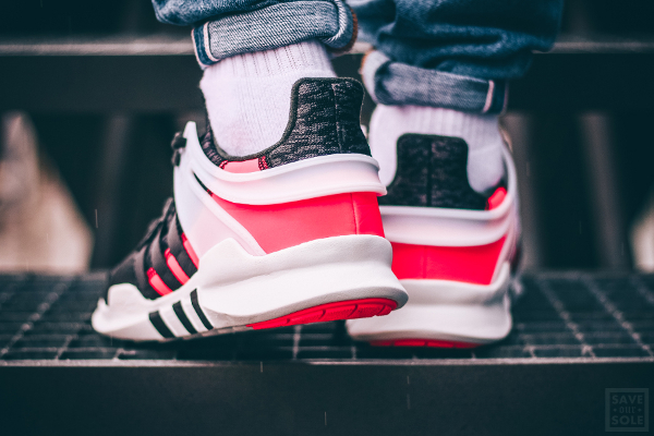 Chaussure Adidas EQT Support ADV 'Black Turbo Red' (Hot Lava) (5)