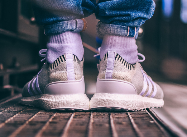 Chaussure Adidas EQT Support Ultra Primeknit Blanche (2)