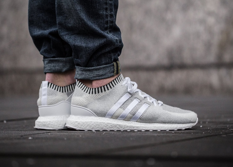 Adidas Equipment Support Ultra Primeknit 'White & Black'