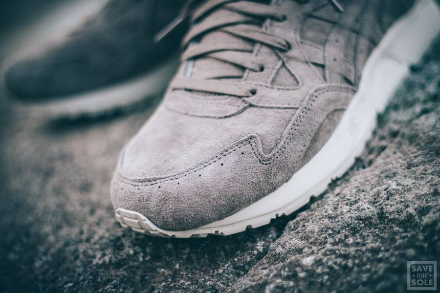 new product a36f4 75808 Chaussure Asics Gel Lyte V 5 Suede Grise  Light Taupe  (homme) (