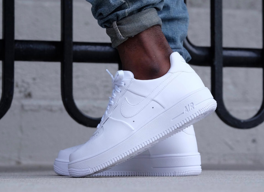 Blanche 'triple White' Nike Air Force Ultraforce 1 Low Leather n0PwOk