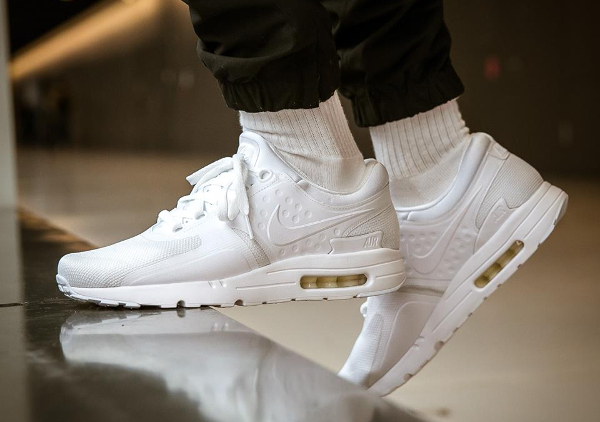 Nike Essential 'all White' Air Zero 0 Max Blanche wkZOPuTXil